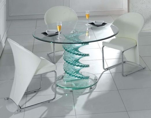 Wonderful Best Swirl Glass Coffee Tables Within 89 Best Glass Coffee Tables Images On Pinterest (Image 45 of 50)