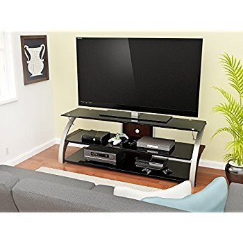 Wonderful Best TV Stands For 55 Inch TV Regarding Amazon Z Line Zl51744mixu Standmount For 55 Inch Tv Home (Image 47 of 50)