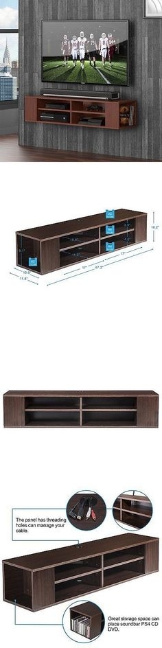 Wonderful Best Wall Mounted TV Stands Entertainment Consoles With French Floating Entertainment Center Distressed Tv Stand Vintage (View 30 of 50)