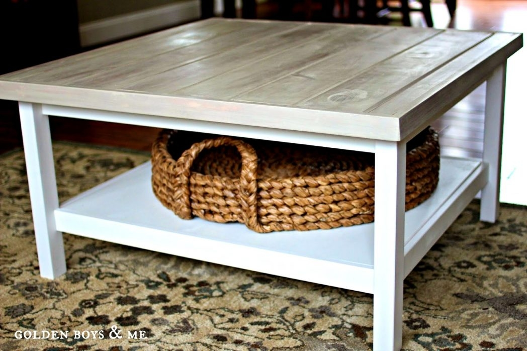 Wonderful Best White Coffee Tables With Baskets Intended For White Coffee Table With Baskets Coffee Tables Thippo (Image 37 of 40)