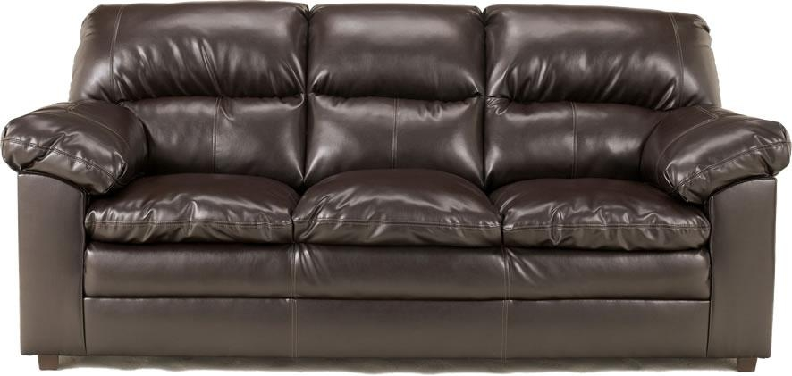 Wonderful Bonded Leather Sofa Black Bonded Leather Sofa – Interiorvues Inside Bonded Leather Sofas (View 3 of 20)
