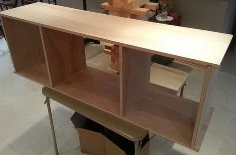 Wonderful Brand New 24 Inch Wide TV Stands Throughout How To Build A Simple Diy Tv Stand Using Wood Removeandreplace (Image 48 of 50)