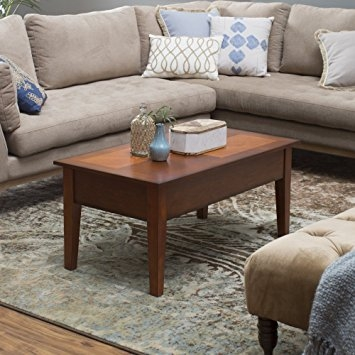 Wonderful Brand New Coffee Tables With Raisable Top Throughout Amazon Turner Lift Top Coffee Table Kitchen Dining (Image 49 of 50)