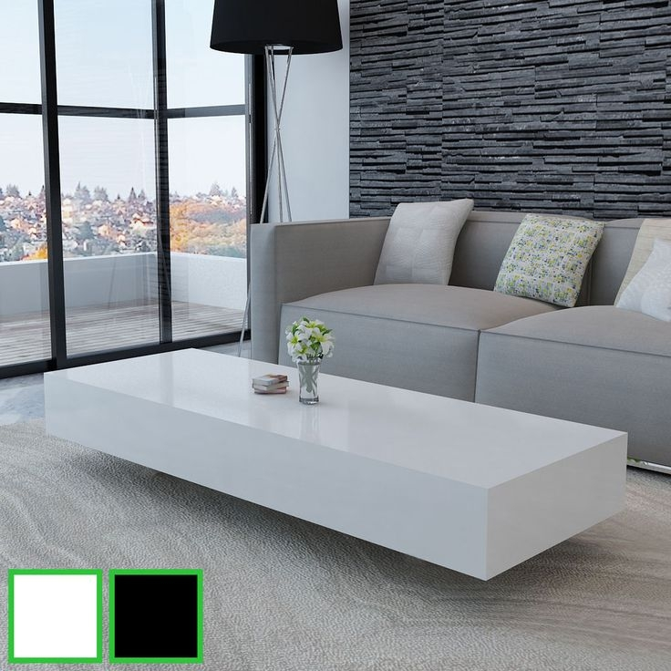 Wonderful Brand New Gloss Coffee Tables Regarding Best 25 White Gloss Coffee Table Ideas On Pinterest Table Tops (View 16 of 50)
