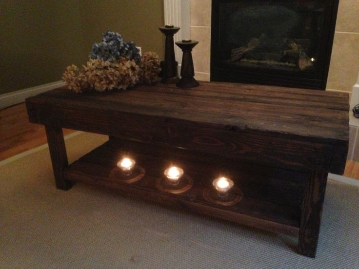 Wonderful Brand New Large Low Rustic Coffee Tables With Regard To 34 Best Coffee Table Couches Images On Pinterest (View 22 of 50)
