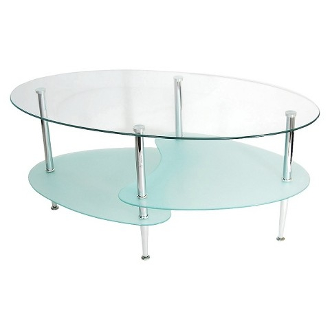 Wonderful Brand New Oval Glass Coffee Tables Within Attentionscan Wood 48 Round Coffee Table Design Stunning (Image 49 of 50)