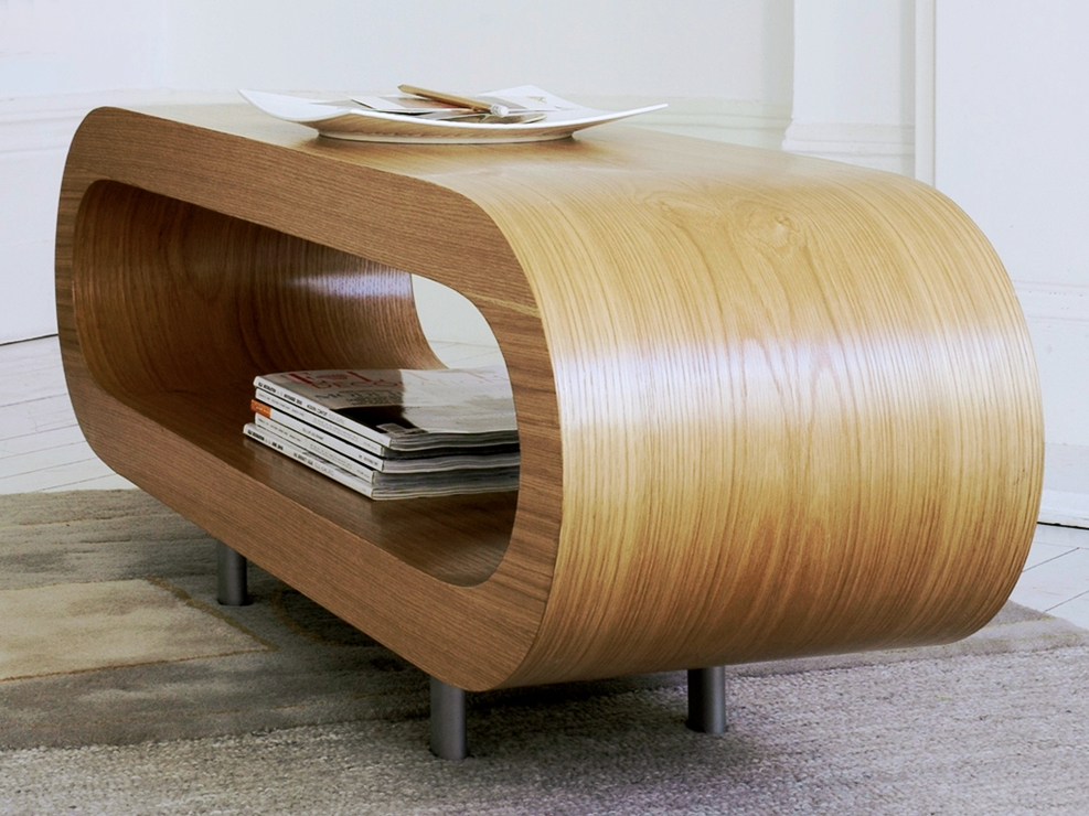 Wonderful Brand New White Retro Coffee Tables Pertaining To Loopy Retro Coffee Table Oak Coffee Tables (View 24 of 50)