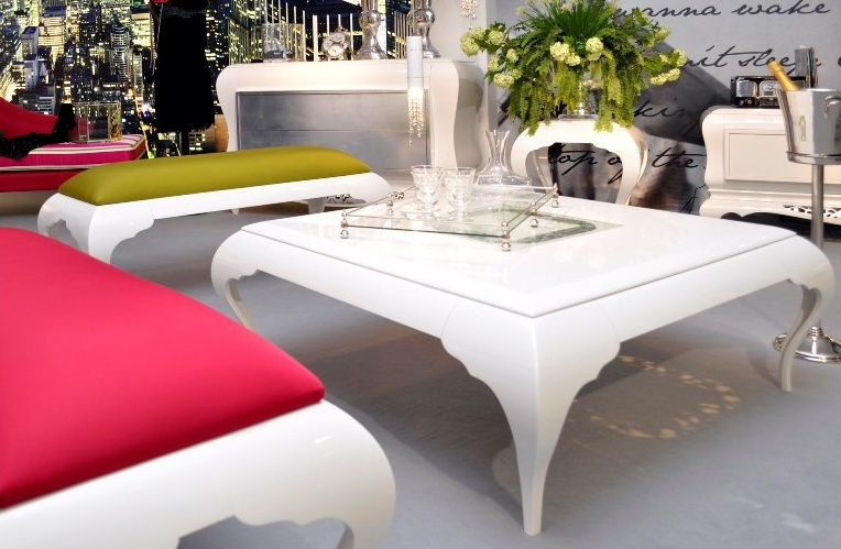 Wonderful Common Baroque Coffee Tables Intended For New Baroque Design Coffee Table Lacquered Wood Rectangular (View 27 of 50)
