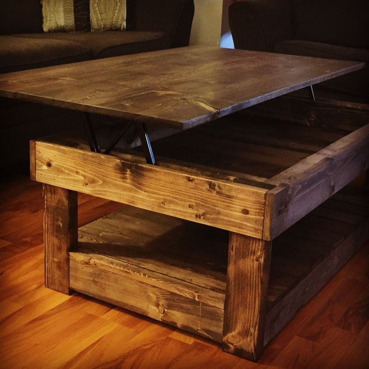 Wonderful Common Coffee Tables Extendable Top In Best 25 Lift Table Ideas On Pinterest Car Scissor Lift Wood (Image 45 of 50)