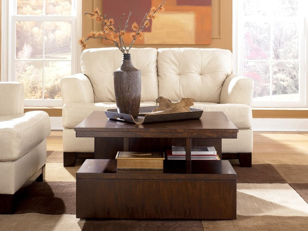Wonderful Common Coffee Tables With Lift Top Storage Inside Lift Top Coffee Table Modern Table And Estate (View 40 of 50)
