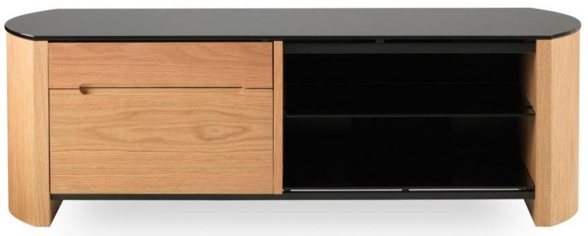 Wonderful Common Light Oak TV Cabinets Regarding Buy Alphason Finewood Light Oak Tv Cabinet Fw1100cb Online Cfs Uk (Image 48 of 50)