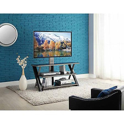 Wonderful Common Modern Glass TV Stands Inside Modern Glass Tv Stand Entertainment Center Shelves Organizer (Image 44 of 50)