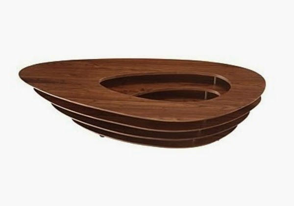 Wonderful Common Oval Wood Coffee Tables In 25 Elegant Oval Coffee Table Designs Made Of Glass And Wood (Image 47 of 50)