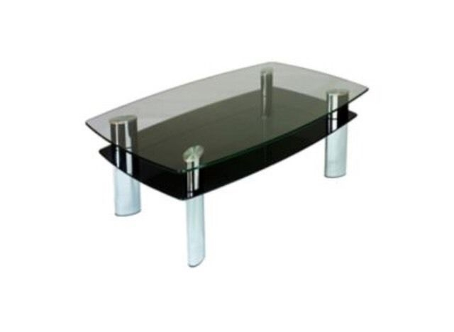Wonderful Common Range Coffee Tables Intended For Harveys Carla Coffee Table Black Glass Chrome Boat Range In (Image 46 of 50)
