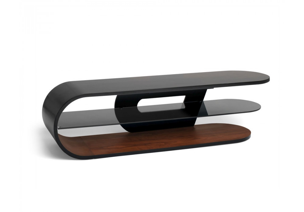 Wonderful Common Techlink TV Stands Sale Throughout Techlink Crest Cr140sbw Bent Wood Tv Stand Screens Up To (View 44 of 50)