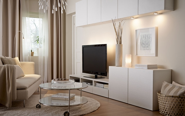 Wonderful Common TV Cabinets With Storage Regarding Ikea Tv Cabinet Design (Image 47 of 50)