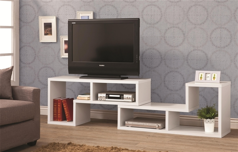 Wonderful Common TV Stands And Bookshelf Intended For Design It You Way White Bookcase Tv Stand Coaster  (Image 49 of 50)