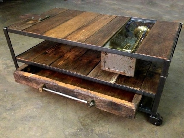 Wonderful Common Wrought Iron Coffee Tables With Regard To Marvelous Rustic Metal Coffee Table Coffee Table Modern Glass (View 36 of 50)