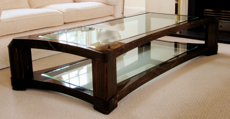 Wonderful Deluxe Dark Wood Coffee Tables With Glass Top With Regard To Glass Coffee Tables Accent Tables Unique Modern Glass Coffee (Image 45 of 50)