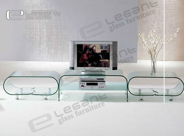 Wonderful Deluxe Glass TV Stands Regarding 11 Best Tv Stands Plateau Dynamic Home Decor Images On Pinterest (View 32 of 50)
