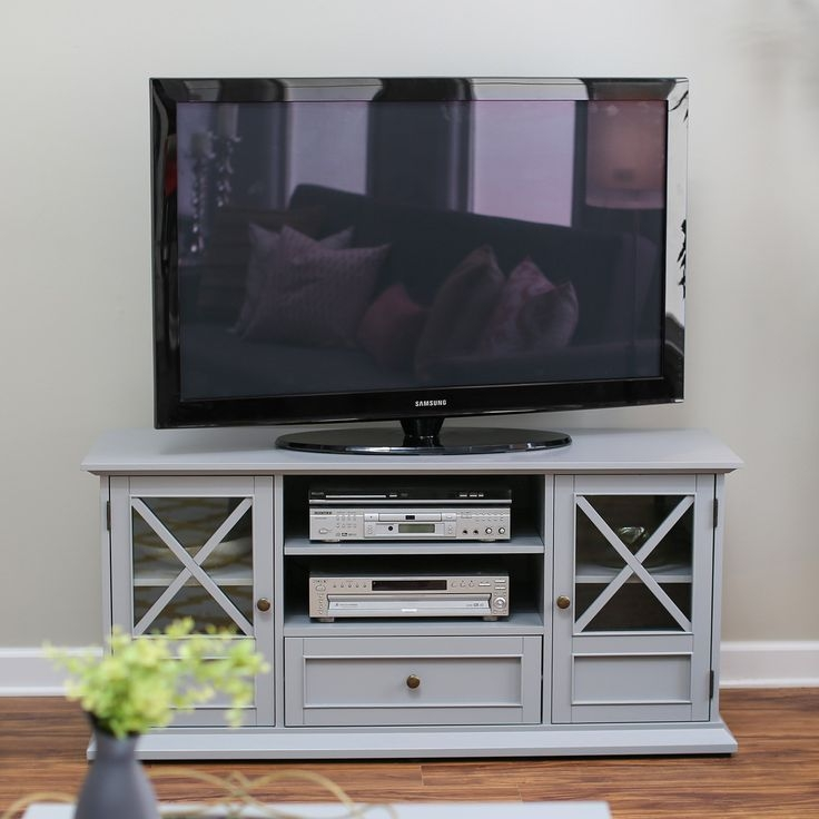 Wonderful Deluxe Grey Corner TV Stands Within Tv Stands Top 55 Inch Tv Stands Cherry Wood Ideas Walmart Tv (Image 50 of 50)