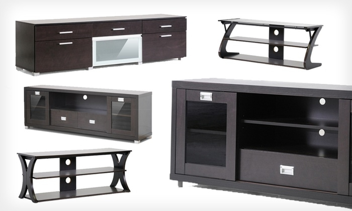 Wonderful Deluxe Modern TV Stands Intended For Modern Tv Stands Groupon Goods (Image 47 of 50)