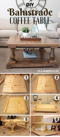 Wonderful Deluxe Rustic Wood DIY Coffee Tables Pertaining To Best 25 Diy Coffee Table Ideas On Pinterest Coffee Table Plans (Image 48 of 50)
