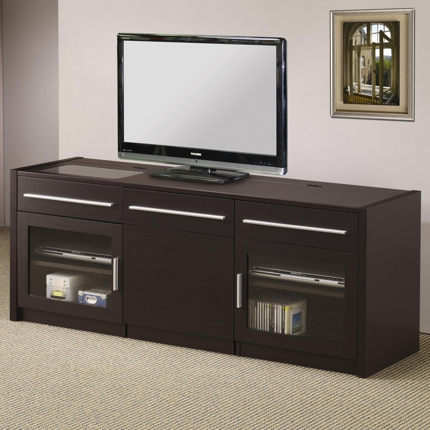 Wonderful Deluxe TV Stands And Computer Desk Combo Throughout Flat Screen Entertainment Center Ideas Diy Corner Tv Stand Plans (View 32 of 50)