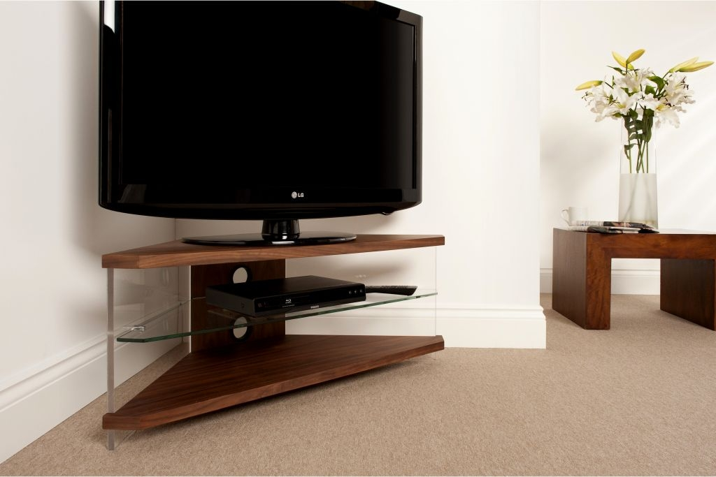 Wonderful Deluxe TV Stands For Corners Throughout Tv Stands Special Product Tall Corner Tv Stands For Flat Screens (Image 45 of 50)