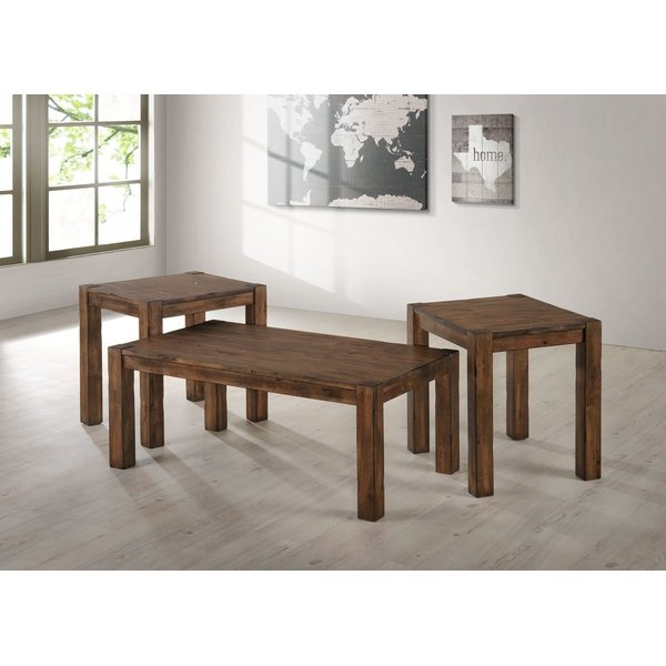 Wonderful Elite 2 Piece Coffee Table Sets Regarding Loon Peak Sandoval 2 Piece Coffee Table Set Reviews Wayfair (View 26 of 50)