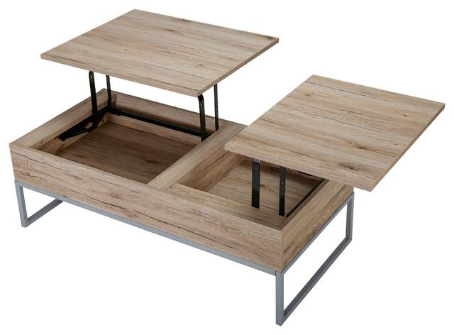Wonderful Elite Flip Top Coffee Tables Regarding Cerise Lift Top Storage Coffee Table Midcentury Coffee And (Image 43 of 50)