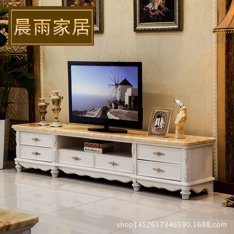 Wonderful Elite French TV Cabinets With Regard To French Marble Storage Tv Cabinet Solid Wood Carving Ivory Paint (Image 47 of 50)