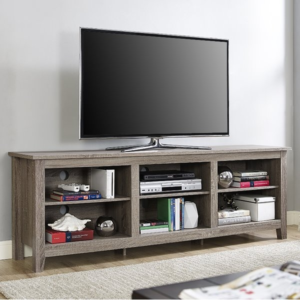 Wonderful Elite Maple TV Stands For Flat Screens Intended For Tv Stands For Tvs Over 70 Inches Youll Love Wayfair (Image 44 of 50)