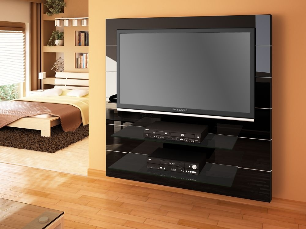 Wonderful Elite Shiny Black TV Stands Intended For Tv Stands Glamorous High Gloss Tv Stand 2017 Design High Gloss (Image 49 of 50)