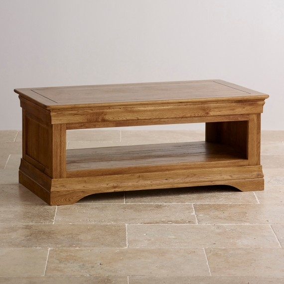 Wonderful Elite Solid Oak Coffee Tables Inside Solid Oak Mango Painted Coffee Tables Oak Furniture Land (View 21 of 50)