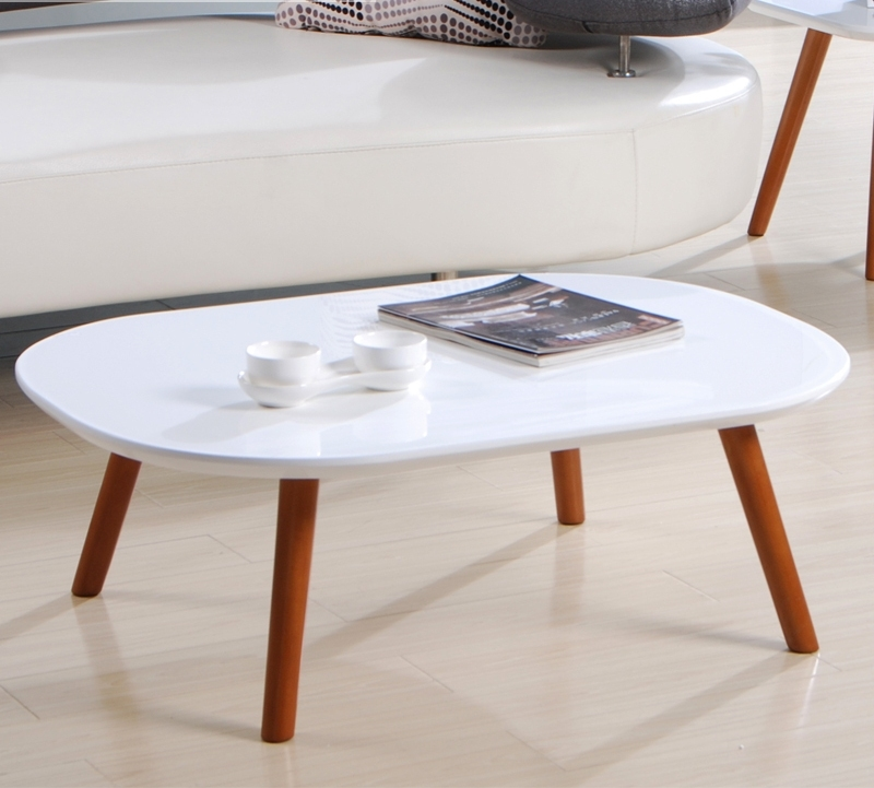 Wonderful Elite White Oval Coffee Tables For White Oval Coffee Table Decor Your Living Room In Style With (View 42 of 50)
