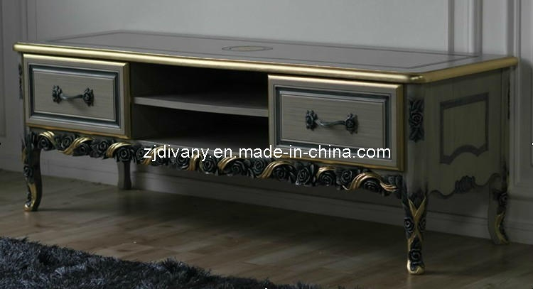 Wonderful Famous French Style TV Cabinets With Regard To China French Style Home Living Room Wooden Tv Cabinet  (Image 44 of 50)