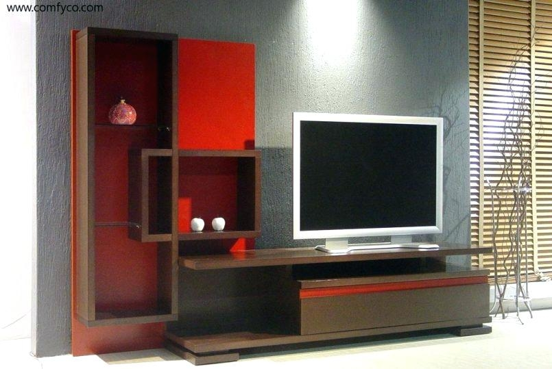 Wonderful Famous Glass TV Cabinets With Doors Within Modern Corner Entertainment Center Telefonesplus (Image 46 of 50)