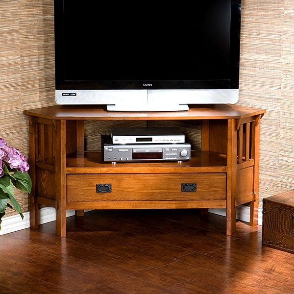Wonderful Famous Oak Corner TV Stands Intended For Living Room Furniture Mission Furniture Craftsman Furniture (Image 47 of 50)