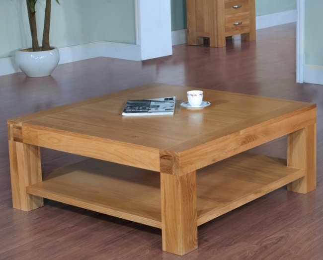 Wonderful Famous Oak Square Coffee Tables Inside Best 25 Large Square Coffee Table Ideas On Pinterest Large (Image 50 of 50)