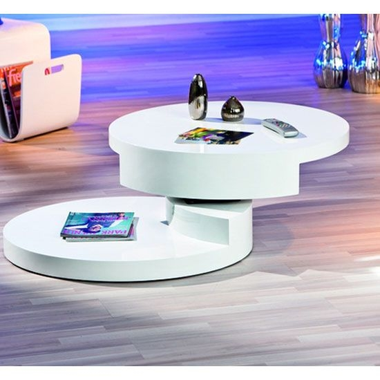 Wonderful Famous Oval Gloss Coffee Tables Intended For Best 25 White Gloss Coffee Table Ideas On Pinterest Table Tops (View 25 of 40)