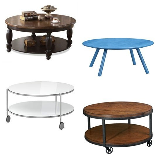 Wonderful Famous Wheels Coffee Tables Pertaining To Round Coffee Table With Wheels Arlene Designs (View 50 of 50)