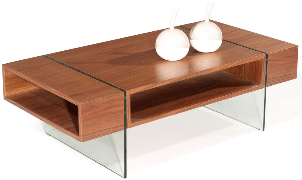Wonderful Famous Wooden And Glass Coffee Tables Pertaining To Glass Wood Coffee Table Modern Glass Table Ideas Glass Coffee (View 48 of 50)
