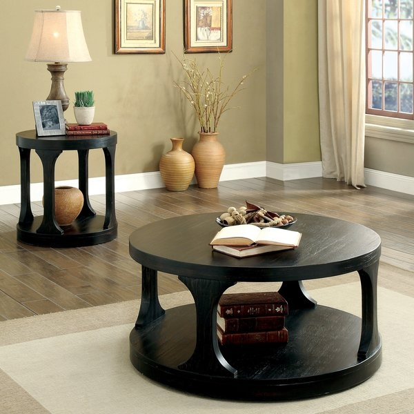 Wonderful Fashionable 2 Piece Coffee Table Sets For Red Barrel Studio Haywood Transitional 2 Piece Coffee Table Set (View 23 of 50)