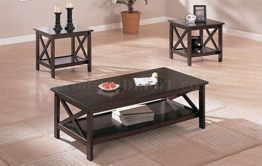Wonderful Fashionable Espresso Coffee Tables With Regard To Coffee Table Terrific Espresso Coffee Table Set Espresso Coffee (View 9 of 50)