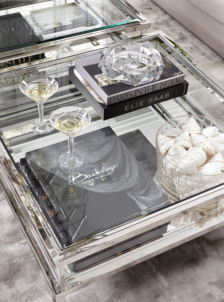 Wonderful Fashionable Glass Coffee Tables With Storage Throughout Best 20 Square Coffee Tables Ideas On Pinterest Build A Coffee (Image 48 of 50)