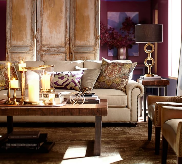Wonderful Fashionable Griffin Coffee Tables Regarding Griffin Reclaimed Wood Side Table Pottery Barn (View 17 of 50)