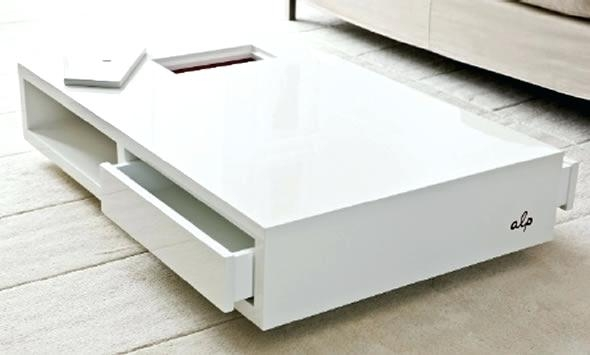 Wonderful Fashionable Large Low Level Coffee Tables With Coffee Table Coffee Table Vg 5000 White Lacquered Finished (View 19 of 50)