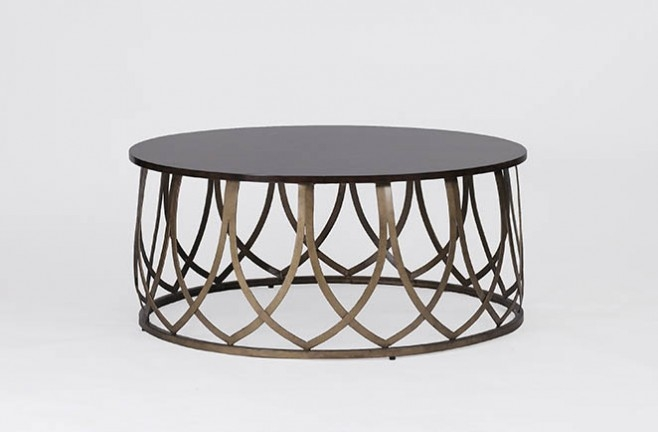 Wonderful Fashionable Round Steel Coffee Tables In Coffee Table Breathtaking Round Metal Coffee Table Small Round (Image 47 of 50)