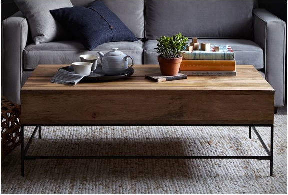 Wonderful Fashionable Storage Coffee Tables Regarding Rustic Storage Coffee Table (View 29 of 50)